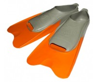 Ласты Mad Wave POOL COLOUR SHORT, 36-37, Orange короткие