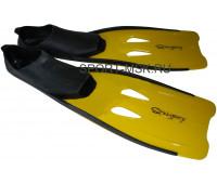 Ласты для плавания F27(431) размер 30-32 (желтые)