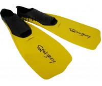 Ласты для плавания F37(437) размер 30-32 (желтый)
