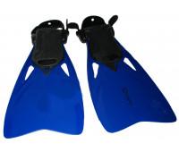Ласты для плавания F48(438) размер 36-39 (синие)