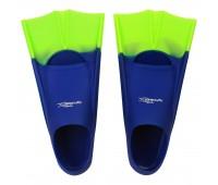 Детские короткие ласты для плавания Light-Swim LS 11 (CH) NAVY/GREEN р. 25-29