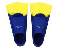 Детские короткие ласты для плавания Light-Swim LS 11 (CH) NAVY/YELLOW р. 28-31
