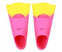 Детские короткие ласты для плавания Light-Swim LS 11 (CH) PURPLE/YELLOW р. 25-29