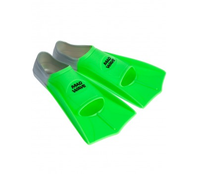 Ласты Mad Wave - Fins Training размер 37-38 короткие ласты для бассейна детские
