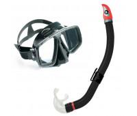 Комплект маска Look (черн.сил) + трубка Mach Dry TN 101830