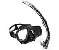 Комплект маска LOOK (черный силикон) + трубка ЗЕФИР TN SC125115