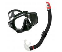 Комплект маска Ventura (черн.сил) + трубка Mach Dry TN SC132111