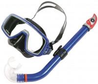 Комплект маска Ventura (черн.сил) + трубка Mach Dry TN SC132111 Blue