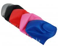 Шапочка для плавания одноцветная CAP1700