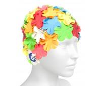 Латексная шапочка Mad Wave Flower Color Mix
