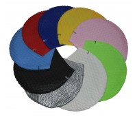 Шапочка для плавания одноцветная женская BC
