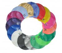 Шапочка для плавания одноцветная CAP100