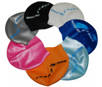Шапочка для плавания одноцветная CAP900