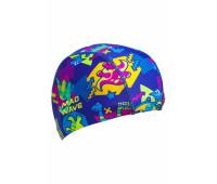 Юниорская текстильная шапочка Mad Wave DINOS
