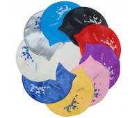 Шапочка для плавания одноцветная FB