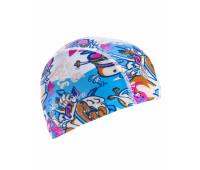 Юниорская текстильная шапочка Mad Wave FUNKY DOGS