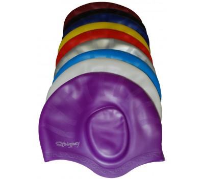 Шапочка для плавания одноцветная HE