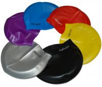 Шапочка для плавания одноцветная QA