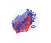 Силиконова шапочка Mad Wave RUS EAGLE M0559 15 0 00W