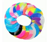 Шапочка для плавания многоцветная SB