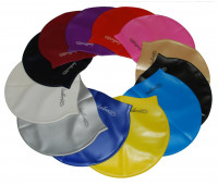 Шапочка для плавания одноцветная SH