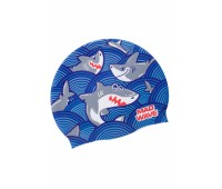 Юниорская силиконовая шапочка Mad Wave SHARKY M0579 11 0 04W