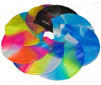 Шапочка для плавания многоцветная SS