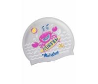 Юниорская силиконовая шапочка Mad Wave SURFER M0579 12 0 17W