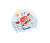 Юниорская силиконовая шапочка Mad Wave SURFER M0579 12 0 02W