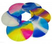 Шапочка для плавания многоцветная XA