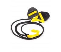 Dry Training Mad Wave гребной тренажер с лопатками желтый