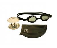 Набор для плавания (очки+шапочка+зажим+заглушки) PK-101-104