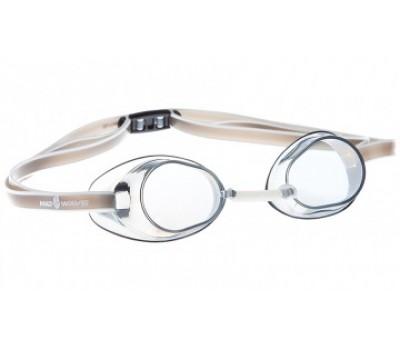 Стартовые очки Mad Wave Racer SW Серый M0455 03 0 17W