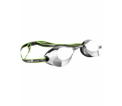 Стартовые очки Mad Wave Turbo Racer II Mirror Черный M0458 07 0 01W