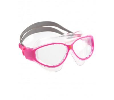 Очки-маска детские Mad Wave Junior FLAME Mask Розовый