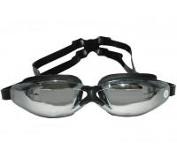 Очки для плавания зеркальные с диоптриями HJ-603OPT -2,0 черн.