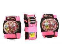 Набор защиты из 3-х предметов PK-001-Pink Размер L