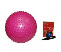 Мяч для йоги GB02 75см массаж