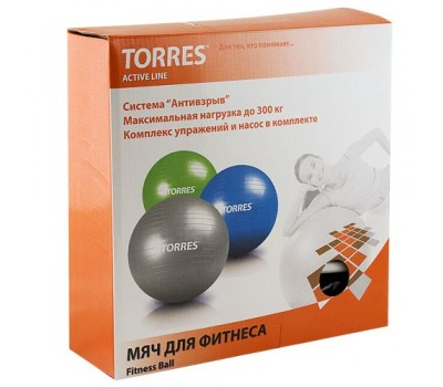 "Мяч фитбол. ""TORRES"", арт.AL100175, диам. 75 см"