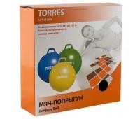 """Мяч-попрыгун """"TORRES"""",  арт.AL100545 с ручкой, диам. 45 см"""