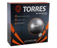 "Мяч фитбол. ""TORRES"", арт.AL100175, диам. 75 см,"