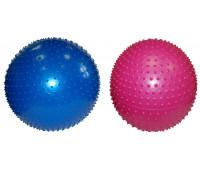 Мяч для йоги с выступами YW-02/65HP 65 см с насосом