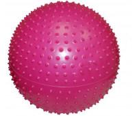Мяч для йоги GB02/55 TP массажный с насосом