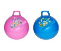 Мяч для прыгания YW-04/55HP 55 см с насосом