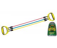 Эспандер плечевой EG1747-60 с регулируемой нагрузкой 3 жгута