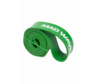 Эспандер Mad Wave Long Resistance Band Зеленый 22,7-54,5 кг