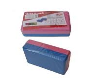 Опорный блок для занятий йогой двухцветный HKYB6011