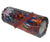 Валик для занятий йогой YW-6004/30BL, 30х d 13см.