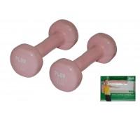 Набор гантелей 2 шт. х 1 кг 4762DP-2
