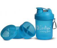 Бутылка для воды (шейкер) INDIGO 400 мл